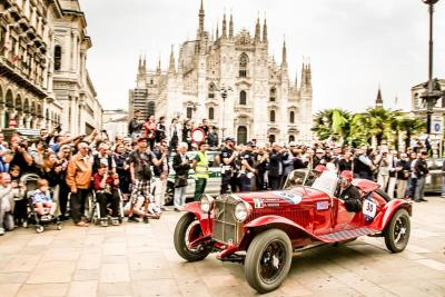 Alfa Romeo Finishes One-Two-Three At The Mille Miglia 2018