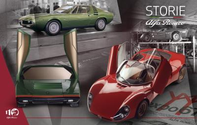 A Revolution In Shapes And Colours With The 33 Stradale, Carabo And Montreal