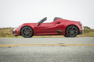 ALL-NEW 2015 ALFA ROMEO 4C SPIDER PRICING ANNOUNCED