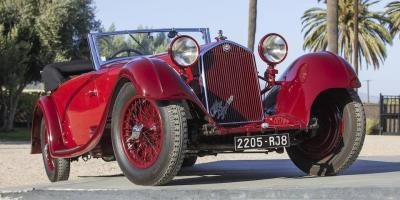 'Picture Perfect' Legendary Alfa Romeo Leads Bonhams Quail Motorcar Auction