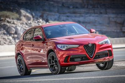 Stelvio Quadrifoglio Named Northwest's Most Fun-To-Drive Vehicle And Most Fun SUV At 'Run To The Sun' Media Event
