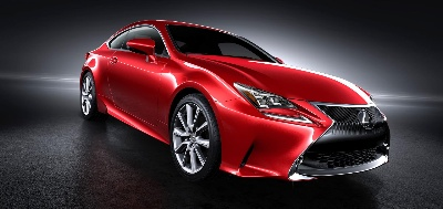 The All-New Lexus RC Set to Launch 'In the Red'