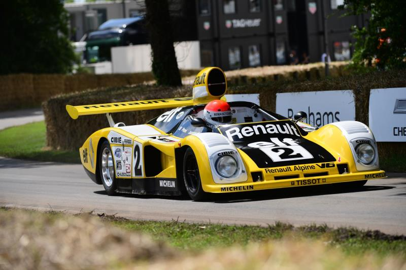 Alpine At The 26Th Goodwood Festival Of Speed