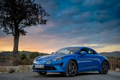 Alpine A110 Scoops Prestigious Prize At The Festival Automobile International