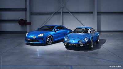 Alpine Cars Showcasing The Bloodline Of The A110 Sports Car At London Concours 2018