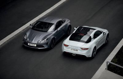 Alpine Presents UK Debut Of New Alpine A110S At Salon Privé