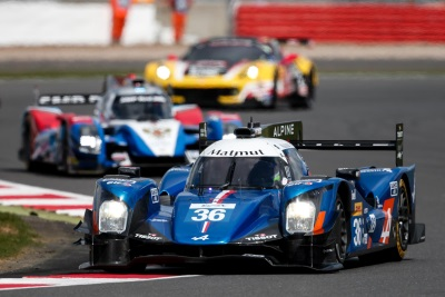 ALPINE FINISH PROMISING WEEKEND JUST SHY OF SILVERSTONE PODIUM