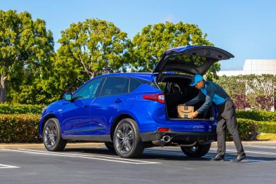 Key By Amazon In-Car Delivery Now Available For Third-Generation Acura RDX Owners