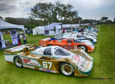Competition at the Amelia Island Concours