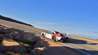 Amelia-Bound Porsche 935-19 Aims For More Pikes Peak Records