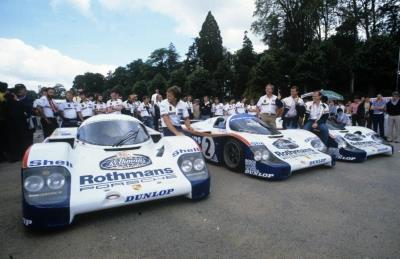 The 2019 Amelia Island Concours Honors Porsche 962 Dynasty