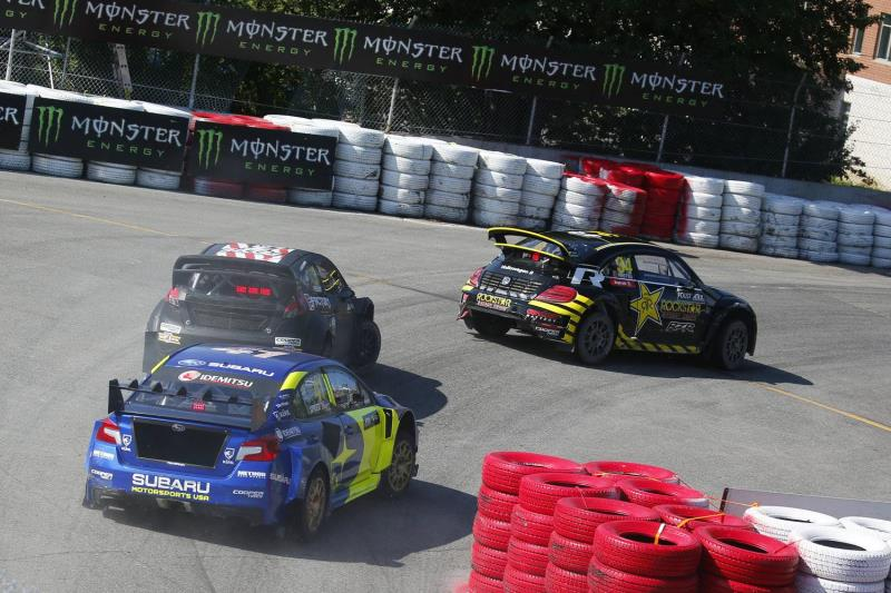 Volkswagen Trois Rivieres >> Andretti Rallycross Takes 1 2 Finish With Volkswagen Beetle