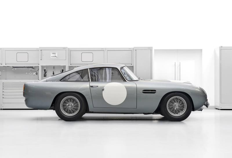 Original Aston Martin DB4 GT Continuation Car, With Delivery Miles, Comes To Market Via Aston Martin Works