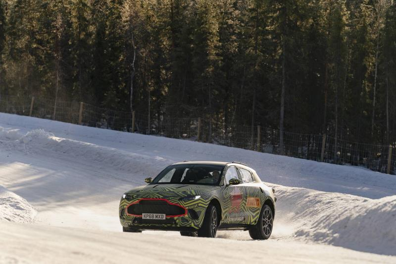 Aston Martin DBX Tested To The Extreme In Sweden