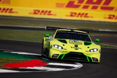 Aston Martin Delivers Front-Row Performance On Home Soil
