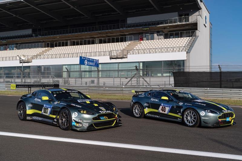 Aston Martin Racing Starts Fifth In Adac Zurich Nürburgring 24 Hours