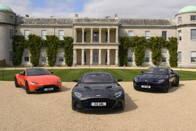 Aston Martin Accelerates Towards Goodwood Festival Of Speed