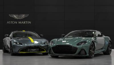 Aston Martin Cheltenham Welcomes Duo Of Rare '59 Edition' Models