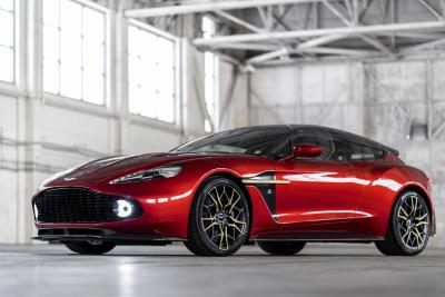 Aston Martin Stars At The London Classic Car Show