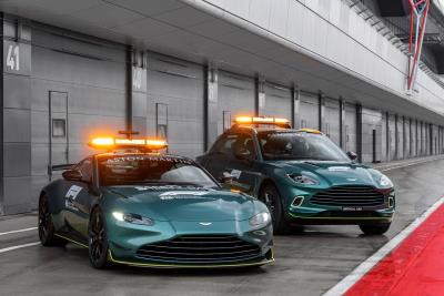 Aston Martin takes pole position as an Official Safety Car of Formula 1