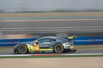 Aston Martin Racing Claims Double Shanghai Pole