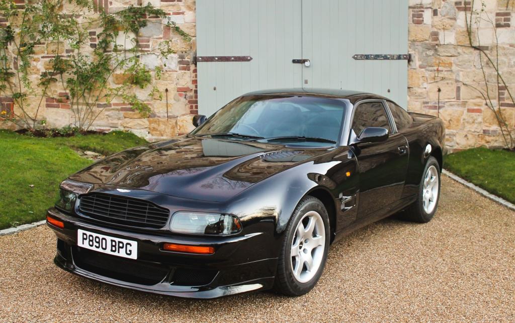 Rare Aston Martin Once Owned By Sir Elton John Cbe For Auction Conceptcarz Com