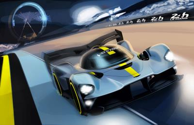 Aston Martin Valkyrie Hypercar To Fight For Overall Victory At Le Mans
