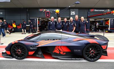 Aston Martin Valkyrie Wows Crowds On Public Debut At Silverstone