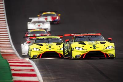 Aston Martin Vantage GTE Dominates The Lone Star 6 Hours With Emphatic Double Victory In The USA