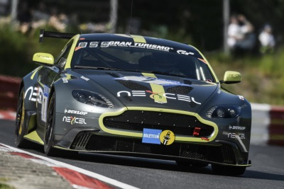 Aston Martin Vantage GT8 Qualifies 2nd For Nürburgring 24 Hours