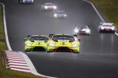 Aston Martin Vantage GTE Takes Another Step Forward In Japan