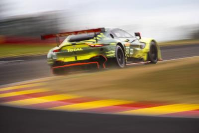 Aston Martin Vantage GTE Dominates Front Row For Total 6 Hours Of Spa-Francorchamps