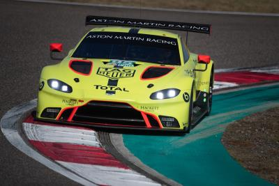 Aston Martin Vantage Shows Strong Pace In Shanghai Qualifying