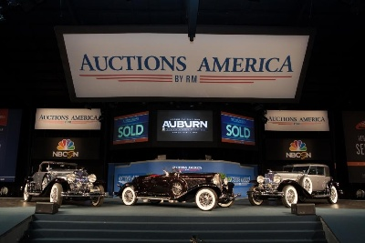 Auctions America's Flagship Auburn Fall Event Earns Best Results Yet with Record Sales and 40% Attendance Increase