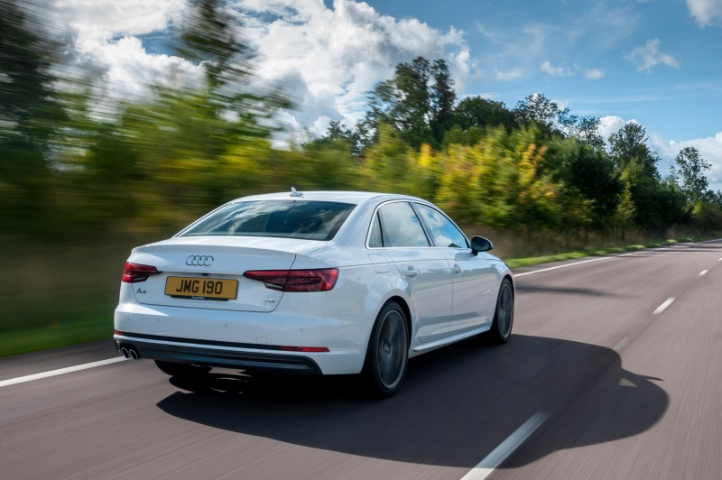 AUDI A4 CLAIMS CONTRACT HIRE AND LEASING CAR OF THE YEAR TITLE AND EXECUTIVE CAR TROPHY