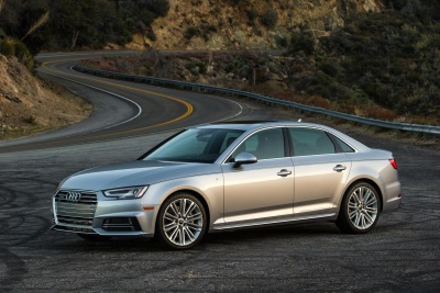 2017 AUDI A4 WILL BE THE ONLY SIX-SPEED MANUAL TRANSMISSION WITH STANDARD ALL-WHEEL DRIVE IN THE LUXURY SEDAN SEGMENT