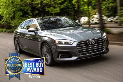 The 2018 Audi A5 Sportback And The 2018 Audi Q5 Earn Kelley Blue Book Best Buy Awards