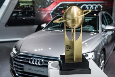 The Audi A8 Is The 'World Luxury Car 2018'