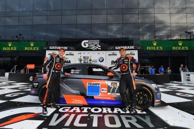 Audi Customers Win Season Opener At Daytona Rolex 24 Weekend