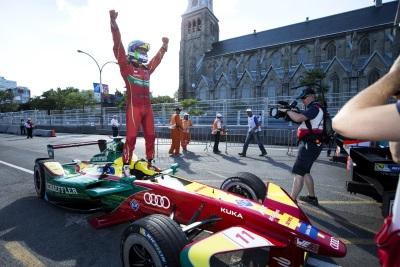 Audi Driver Lucas Di Grassi Is Formula E Champion