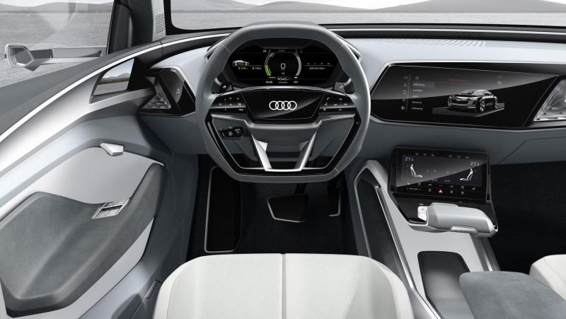 The architecture of e mobility: Audi e-tron Sportback concept