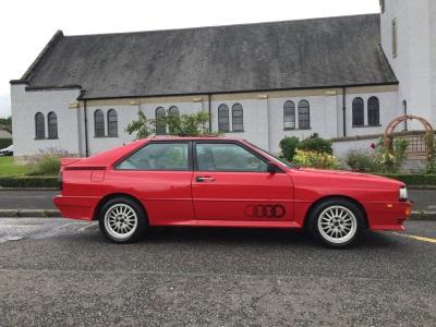 Low Mileage Audi Quattro Cult Classic For Auction With CCA