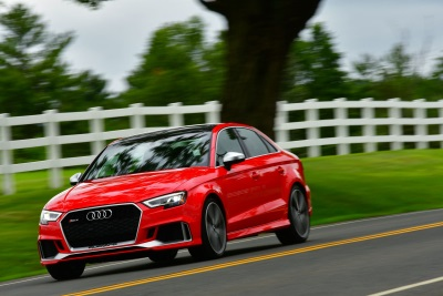 Audi RS 3 Sedan Earns 2018 Car And Driver '10Best Car Of The Year' Award