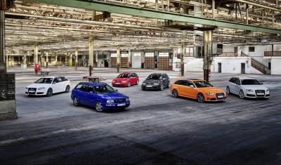 High Performance Heroes – Audi Sport Celebrates 25 Years Of The Audi RS Models