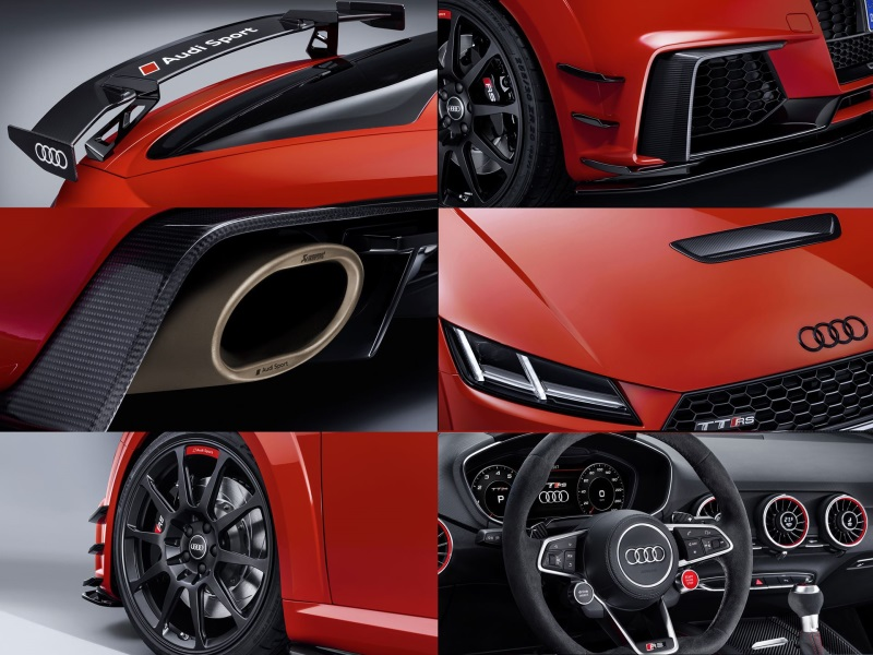 Audi Sport Performance Parts And Audi TT Clubsport Turbo Concept Make North American Debut At 2017 SEMA Show