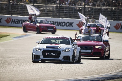 SPOILED FOR CHOICE IN THE AUDI SPORT TT CUP