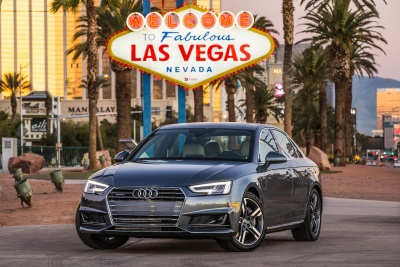 AUDI LAUNCHES FIRST VEHICLE-TO-INFRASTRUCTURE (V2I) TECHNOLOGY IN THE U.S. STARTING IN LAS VEGAS