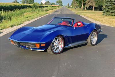 11th Annual Barrett-Jackson Las Vegas Auction Set to Sell an Extraordinary Docket of Chevrolet Corvettes, Camaros