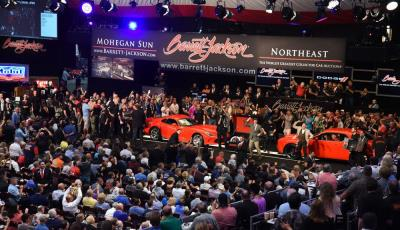 Barrett-Jackson Northeast Auction Achieves Record Sales, Helps Dodge Raise $1.1 Million for Charity With Actor Bill Goldberg