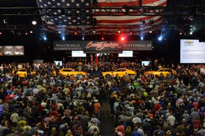 Barrett-Jackson Raises a Record $9.6 Million for Charity With Help From Celebrities, Top Auto Manufacturers, During 48th Annual Scottsdale Auction